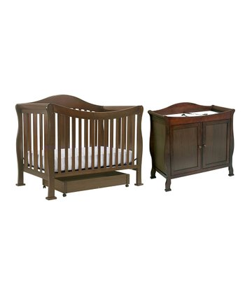 DaVinci Coffee Parker Convertible Crib & Changer