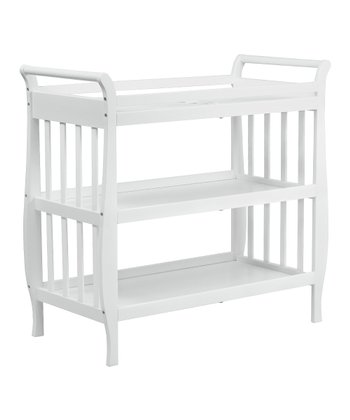 White Emily Changing Table & Pad