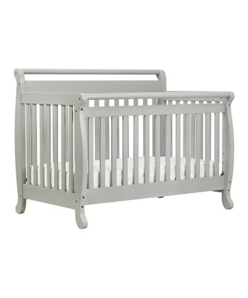 DaVinci Gray Emily Convertible Crib & Mattress