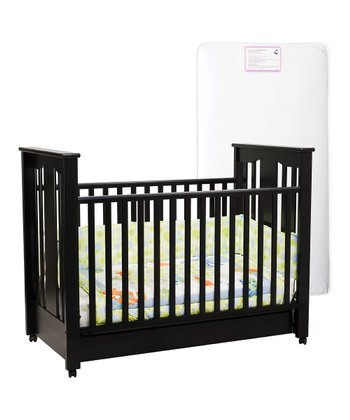 Espresso Annabelle Convertible Crib & Mattress