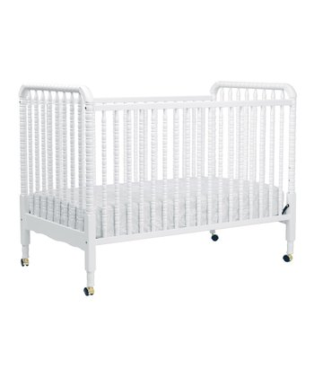 DaVinci White Jenny Lind Convertible Crib & Toddler Rail
