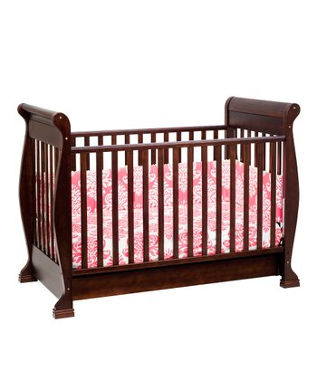 Espresso Anastasia Convertible Crib & Mattress