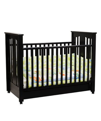 DaVinci Ebony Annabelle Convertible Crib & Mattress