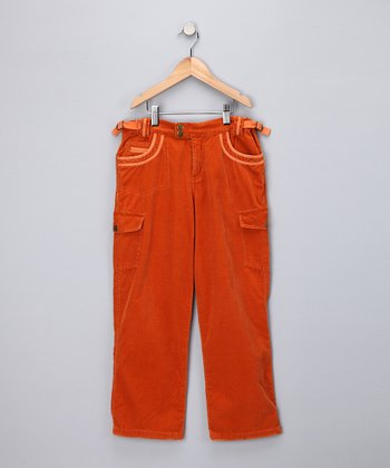 Koi Corduroy Cargo Pants - Girls