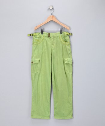 Thistle Corduroy Cargo Pants - Girls