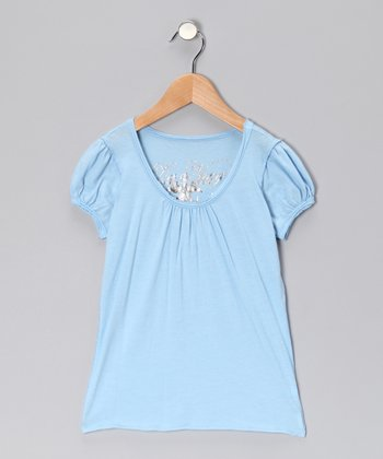 Liquid Knit Tee - Girls