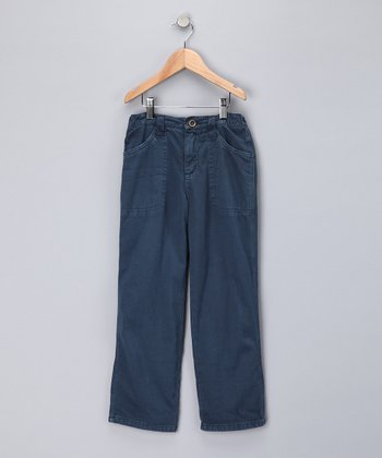 Ink Twill Pants - Girls
