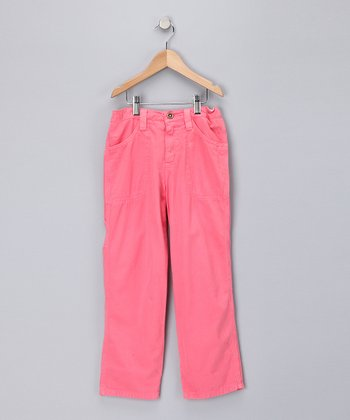 Punch Twill Pants - Girls