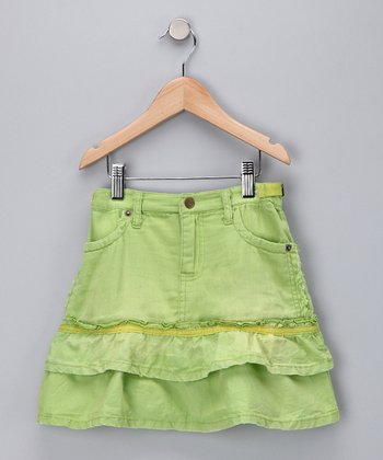 Thistle Tiered Ruffle Skirt - Girls