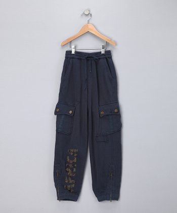 Ink 'Africa' Cargo Pants - Girls