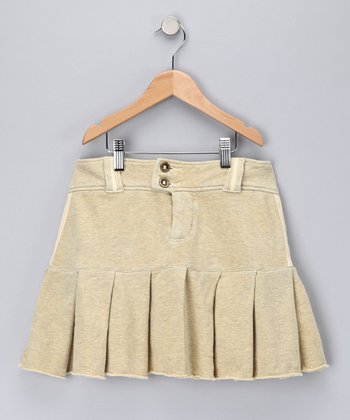 Maize Pleated Skirt - Girls