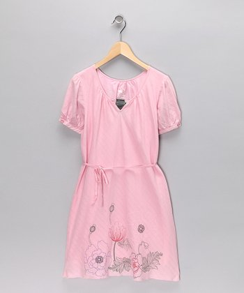 Carnation Shirt Dress - Toddler & Girls