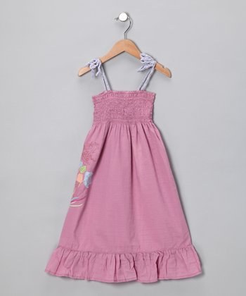 Parade Flamingo Smocked Dress
