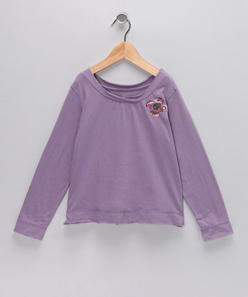 Princess Embroidered Top - Toddler & Girls