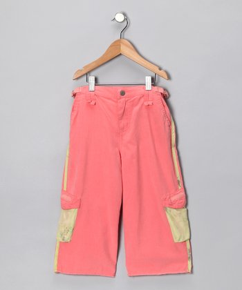 Crayon Silk-Blend Bermuda Shorts - Girls