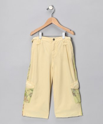 Shine Silk-Blend Bermuda Shorts - Girls