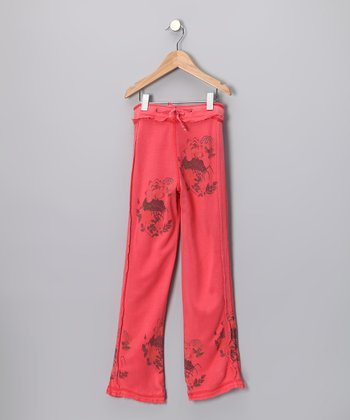 Punch Silk Pants - Girls