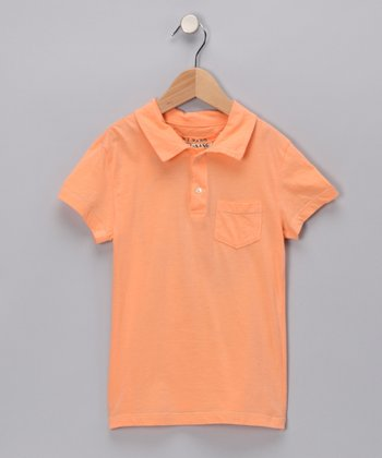Tangerine 'California' Polo - Girls