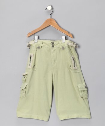 Cater Silk-Blend Bermuda Shorts - Girls