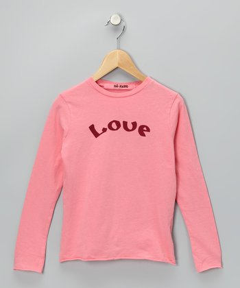 Vintage Punch 'Love' Tee - Girls