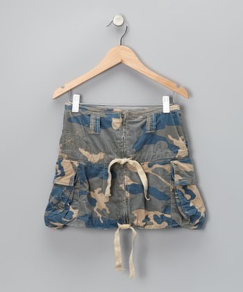 Twilight Camouflage Cargo Skirt