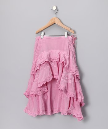 Cotton Candy Ruffle Flounce Skirt