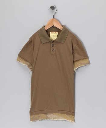 Clay Trim Polo - Girls