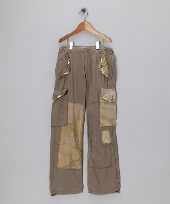 Clay Pocket Tie Crop Pants