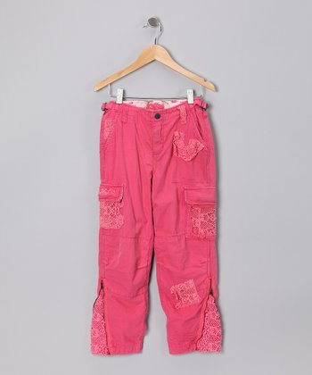 Magnolia Light Twill Pants - Girls