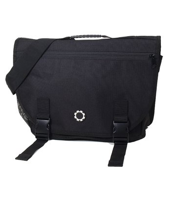 Black Messenger Diaper Bag