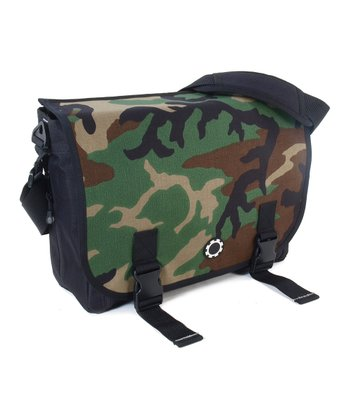 Camouflage Messenger Diaper Bag