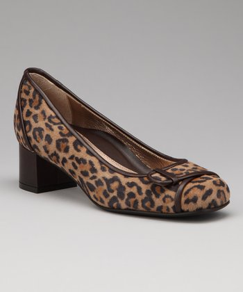 Leopard Suede Billie Pump