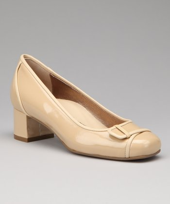 Nude Patent Billie Pump