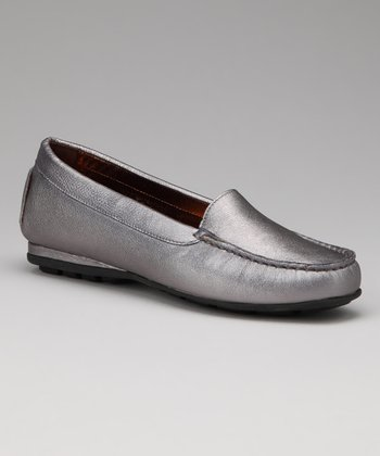 Pewter Metallic Holly Loafer