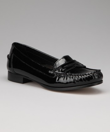 Black Patent Kristen Loafer