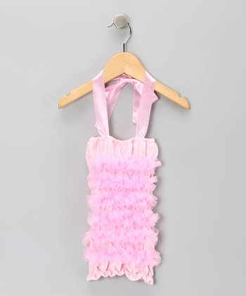 Ballet Pink Ruffle Halter Top - Infant, Toddler & Girls