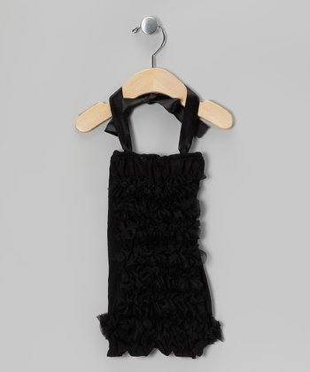 Black Ruffle Halter Top - Infant, Toddler & Girls