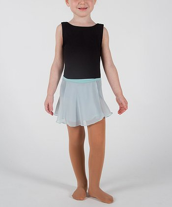 Blue Ethereal Wrap Skirt - Girls