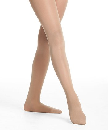 Light Toast Support Compression Dance Tights - Toddler & Girls