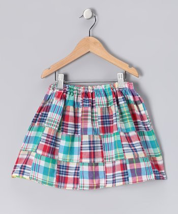 Madras Plaid Skirt - Infant, Toddler & Girls