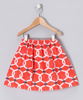 Orange Rigging Skirt - Infant & Girls