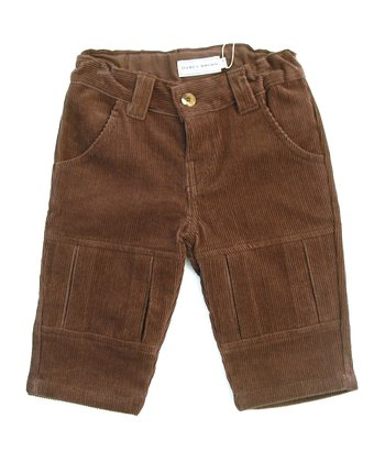 Darcy Brown Chocolate Corduroy Pants - Infant, Toddler & Kids
