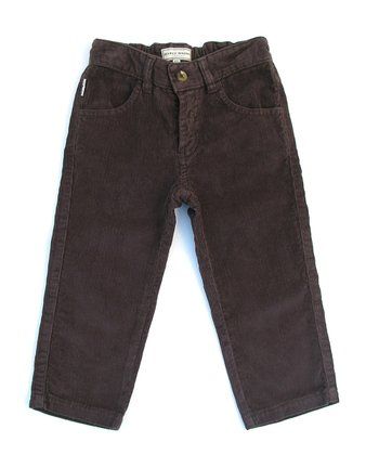 Darcy Brown Chocolate Corduroy Jeans - Infant, Toddler & Boys