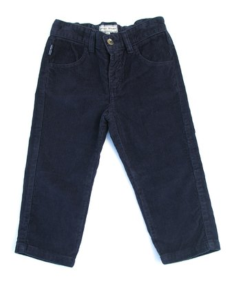 Darcy Brown Navy Corduroy Spencer Jeans - Infant, Toddler & Boys