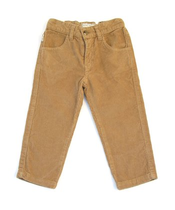 Mocha Corduroy Spencer Jeans - Infant & Toddler