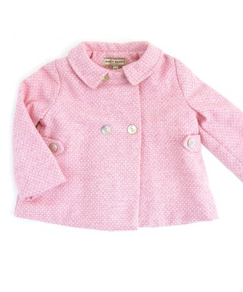 Darcy Brown Orchid Pink Hepburn Jacket - Infant, Toddler & Girls