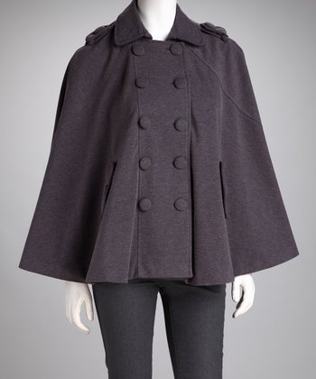 Charcoal Isobel Cape