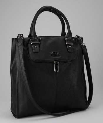 Black Divided Tote