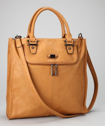Natural Divided Tote