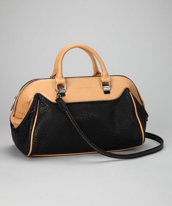 Black & Tan Satchel